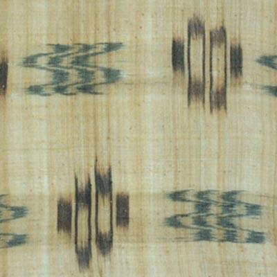 絣衣裳<br /><span>芭蕉、絣 首里 琉球王国時代 19世紀 144.0 x 117.0cm</span>