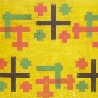 御絵図<br /><span>紙本彩色 首里 琉球王国時代〔沖縄〕19世紀 27.5 x 38.8cm</span>