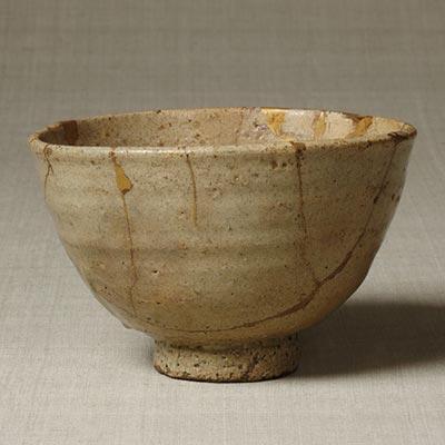 大井戸茶碗 銘「山伏」<br /><span> 朝鮮時代〔朝鮮半島〕16世紀 10.3 x 16.1cm</span>