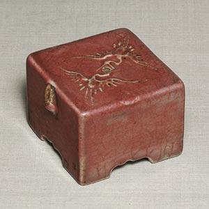 染付家形水滴<br /><span>分院里窯 朝鮮時代〔朝鮮半島〕19世紀後半 5.8×8.3㎝</span>