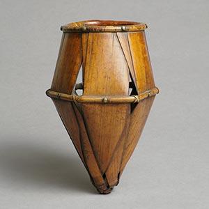 餌畚<br /><span> 江戸時代 19世紀 24.3×16.2cm</span>