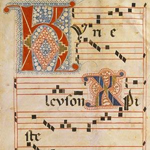 グレゴリオ聖歌楽譜