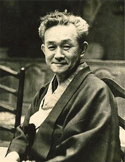 Soetsu Yanagi (1889-1961) about 1954.